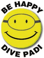 Logo PADI Be Happy